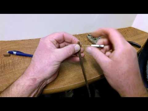 How to Repair Replace Antique Treadle Sewing Machine Cord Belt Singer White Willcox Gibbs Domestic