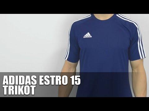 229f4d4513 Adidas Estro 15 Trikot - Fußball Jersey - YouTube