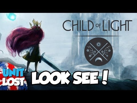 Child of Light Gameplay - First Impressions - Look See