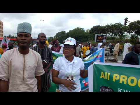 APC National Convention: Kwara APC in Abuja (Video)