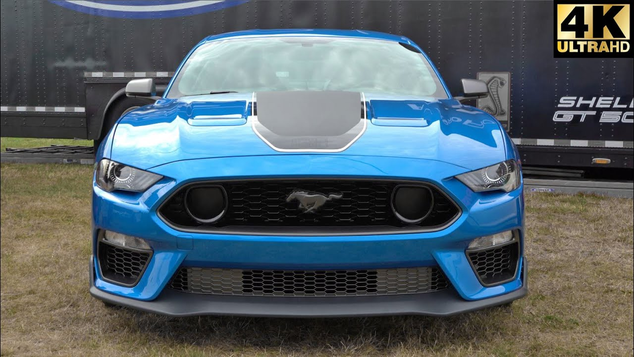 2021 Ford Mustang Mach 1 First Look | 2020 Carlisle Ford Nationals