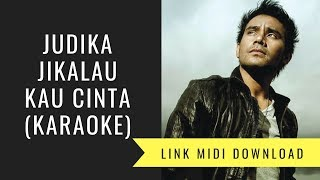 Gambar cover Judika - Jikalau kau Cinta (Karaoke/Midi Download)