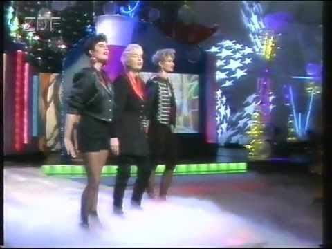 ZDF Silvestershow Goode 91, Auftritt: Valeries Garten  Sanfte Gefühle Ausschnitt 3