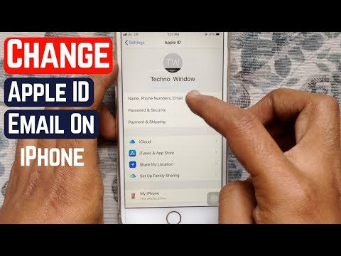 How to change mail password iphone 8