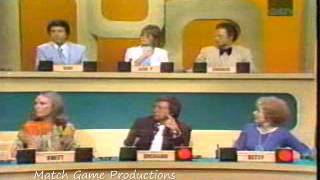 Match Game 73 Episode 11 (Brett, Charles, and Betty's First Episode)