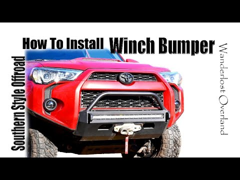 How To Install Slimline Steel Front Bumper on 5th Gen 4Runner
