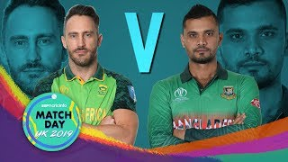 Bangladesh kick-off their World Cup campaign against South Africa