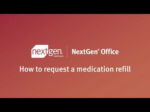 Patient Portal – How to Request a Medication Refill?