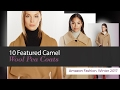 10 Featured Camel Wool Pea Coats Amazon Fashion, Winter 2017