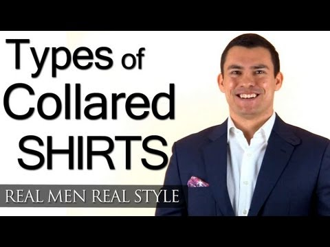 Different Types Of Men's Collared Shirts - Polo Shirts - Work Shirts - Dress Shirts - Formal Shirts