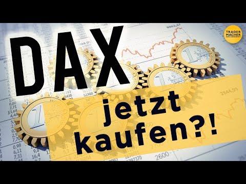 DAX: Jetzt kaufen?
