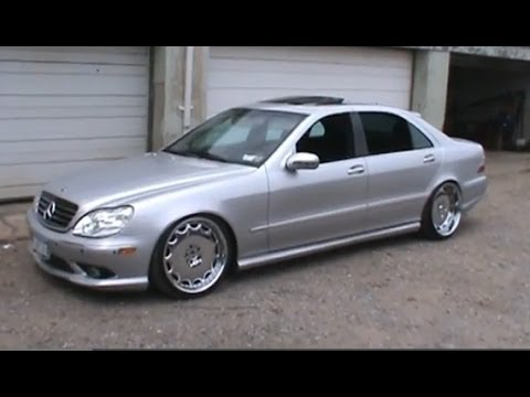 2000 mercedes benz s class s500 vip dropped bagged youtube. Black Bedroom Furniture Sets. Home Design Ideas