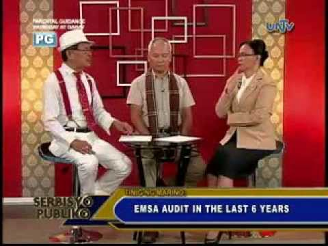 TINIG NG MARINO ON TV 70 - European Maritime Safety Agency (EMSA) Audit In The Last 6 Years