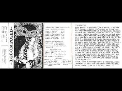 DECOMPOSED (france)  ´´inner destruction´´ [demo 1991]