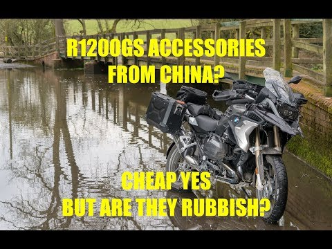 R1200GS Accessories imported from China, Cheap or Rubbish - and Dave confesses as to his absence.