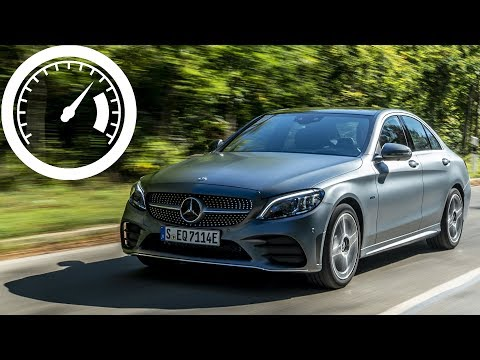 Mercedes C 200 Mild Hybrid (2019) acceleration: 0-60 mph, 0-100 km/h, 0-200 km/h :: [1001cars]