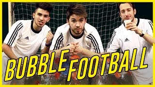 BUBBLE FOOTBALL CHALLENGE - Matt & Bise w/ IlluminatiCrew