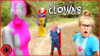 Clowns Series Part 2 Superhero Kids