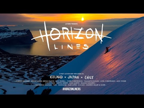 Snowboarding in Iceland | Horizon Lines | Episode 1