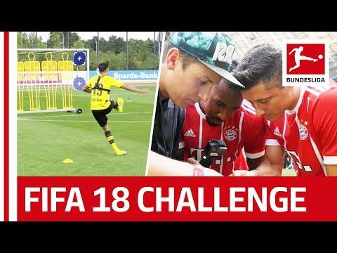 Best Of - EA Sports FIFA 18 Bundesliga Free Kick Challenge