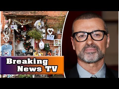 George michael death anniversary: mourners pay heartfelt tribute at star's home a year on| Breaking
