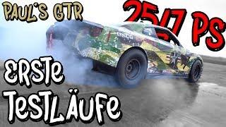 Die ersten Testläufe des Materialmord Racing GTRs! - Paul