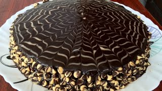 Chocolate Cake with Ganache - Super Moist & Delicious!