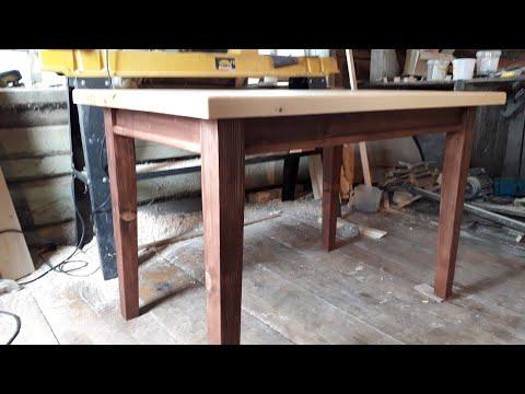 Стол для кухни сделать своими руками