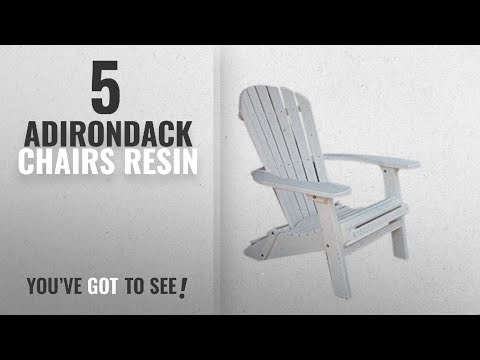 Top 10 Adirondack Chairs Resin [2018]: Phat Tommy Recycled Poly Resin Folding Deluxe Adirondack