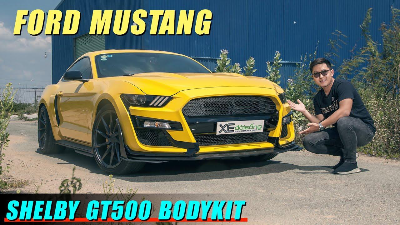 Chi 50 triệu biến Ford MUSTANG EcoBoost thành SHELBY GT500 cực Chất, ảo thuật đổi tiếng pô
