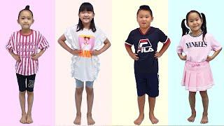 Head Shoulders Knees And Toes Song | Nursery rhymes & Kids song By LoveStar