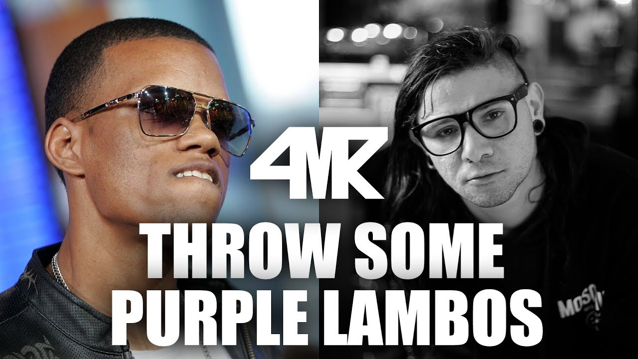 Rich Boy Vs Skrillex Rick Ross Throw Some Purple Lamborghinis