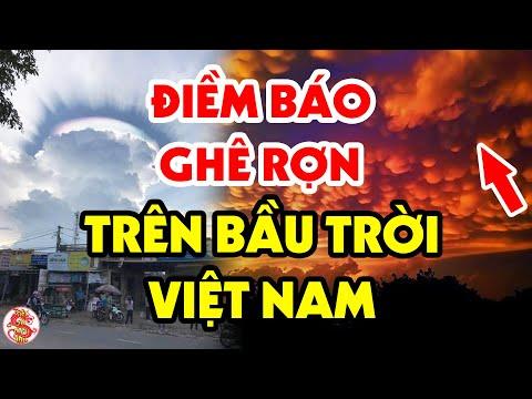 Hiện Tượng KỲ LẠ Liên Tục Xuất Hiện Trên Bầu Trời Việt Nam Tiên Tri Điều Gì?