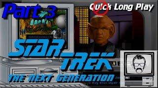 Star Trek TNG A Final Unity (Part 3) - MSDOS [Quick Play] | Nostalgia Nerd