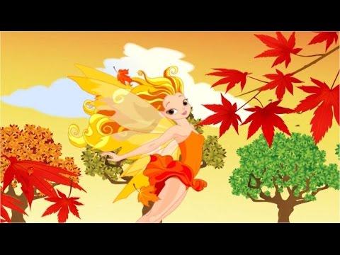Осенние картинки. Музыкальный мультик. Наше_всё!