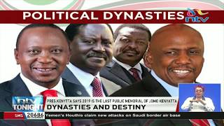 Political Dynasties: President Uhuru says leadership is not about family ties