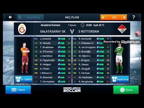 GALATASARAY VS S ROTTERDAM 0-0 Maç
