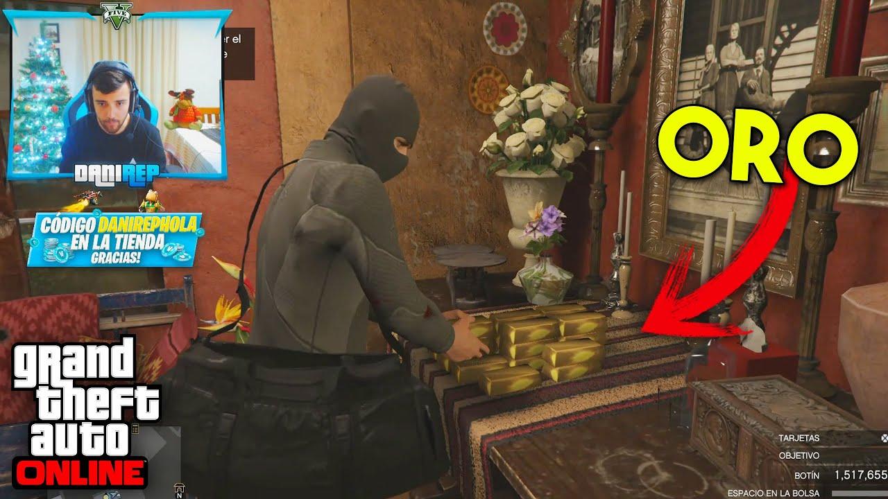 GOLPE FINAL A CAYO PERICO! 100% COMPLETADO!! - GTA V ONLINE