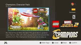 LEGO Marvel Super Heroes 2 Nintendo Switch: How To Download the Champions DLC
