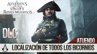 Assassin's Creed Unity Reyes Muertos (Dead Kings) DLC | Localización Bicornios + ATUENDO de Napoleón