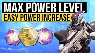 Destiny 2 | How to Increase Power Level to 280+, Get Free Infusion Levels & Powerful Engram Trick!