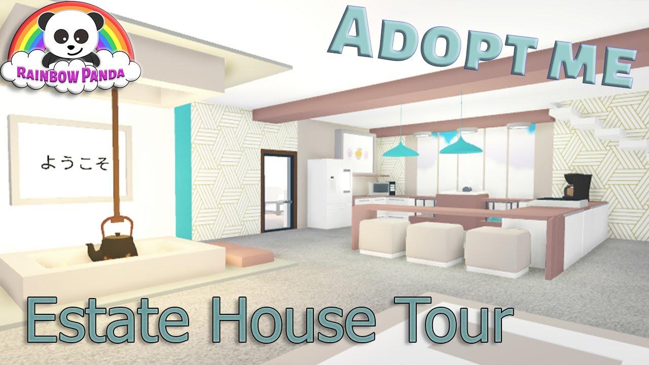 Adopt Me Aesthetic House Tour Estate House Japanese Inspired Youtube