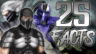 25 Facts About Smoke From Mortal Kombat That You Probably Didn't Know! (Enenra)