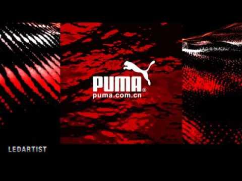 PUMA Beijing Fashion Show, Motion Graphics by LEDARTIST