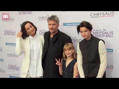Balthazar Getty shows off gorgeous family at Chrysalis Gala   Daily Mail Online