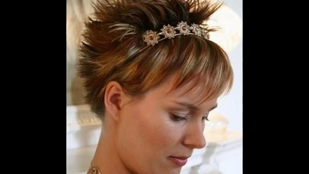 Peinados Para Pelo Muy Corto Para Mujer Youtube