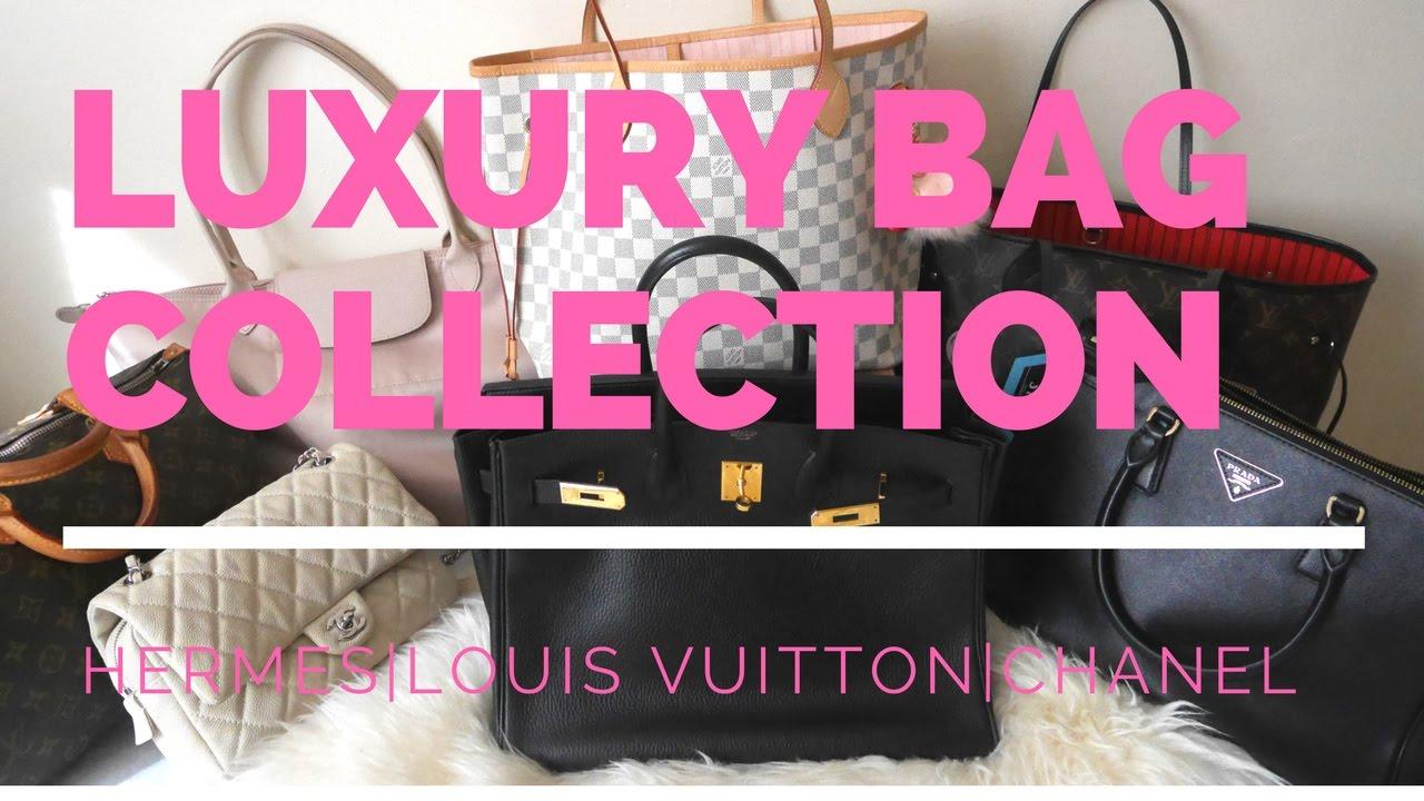 cf161e97b78a ♡Luxury Handbag Collection 2017♡Louis Vuitton, Chanel, Hermes, Kate Spade, Michael  Kors  Cherry Tung