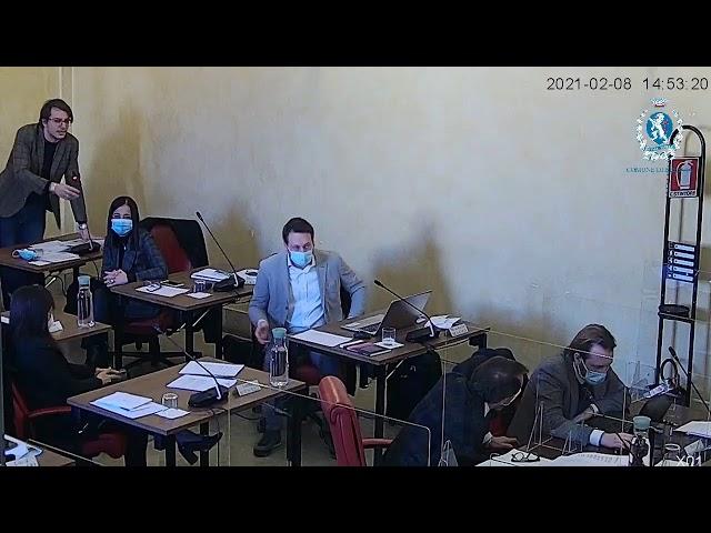 Consiglio Comunale 08/02/21