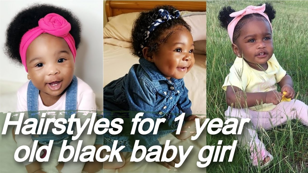 25 hairstyles 🌼 for 1 year old black baby girl - little black hairstyle
