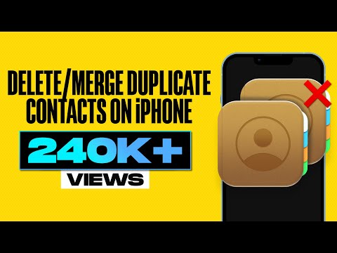 How To Delete Or Merge Duplicate Contacts On IPhone